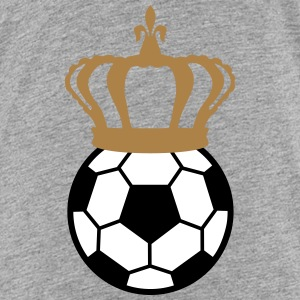 Football, Soccer King (3 colors) Tee shirts - T-shirt Premium Ado