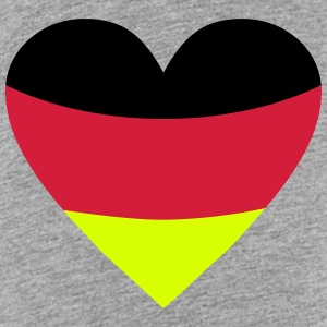 Germany Heart, Deutschland Herz T-Shirts - Kinder Premium T-Shirt