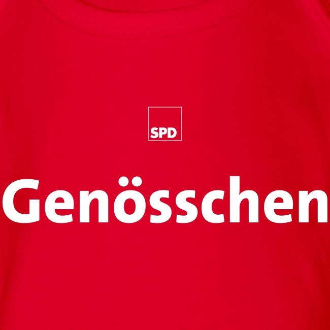 """SPD Baby-Body """"Genösschen"""""""