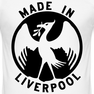 Made in Liverpool Design T-Shirts - Men's Slim Fit T-Shirt