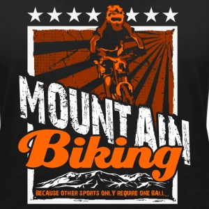 Mountain bike T-Shirts - Women's V-Neck T-Shirt