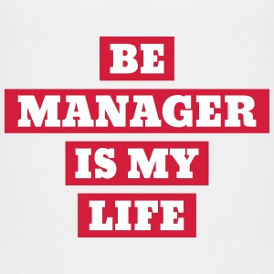 chef / boss / manager / jobb T-shirts - Premium-T-shirt barn