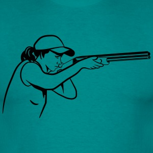 Protect your rifle targets T-Shirts - Men's T-Shirt