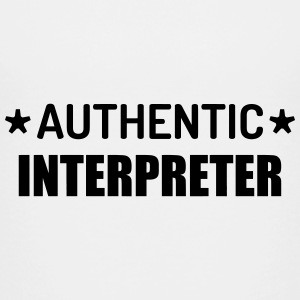 Interpreter Dolmetscher Translation Interprète Shirts - Kids' Premium T-Shirt