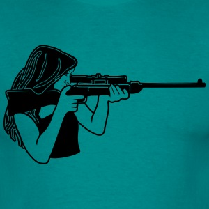 Protector rifle T-Shirts - Men's T-Shirt