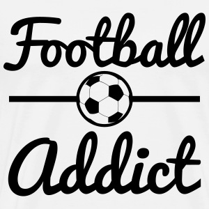 Football Addict, soccer  T-Shirts - Men's Premium T-Shirt