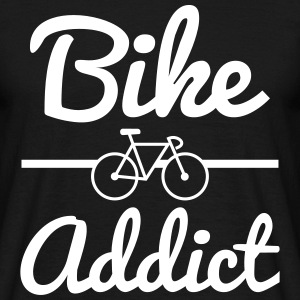 Bike Addict,cycling  T-Shirts - Men's T-Shirt