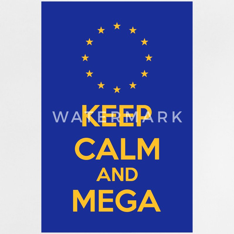 Keep Calm And Mega Baby T-Shirts - Baby T-Shirt