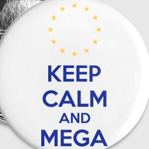 Keep Calm And Mega Buttons & Anstecker - Buttons klein 25 mm