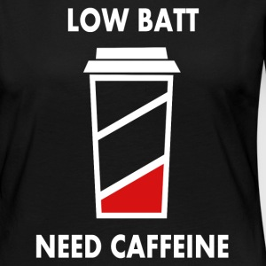 Low battery! I need caffeine! Long Sleeve Shirts - Women's Premium Longsleeve Shirt