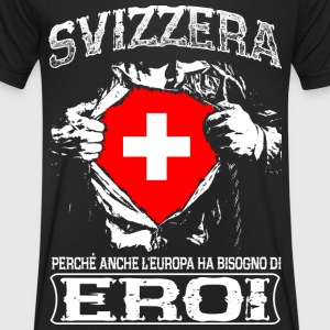 Svizzera - Eroi - Europa T-Shirts - Men's V-Neck T-Shirt
