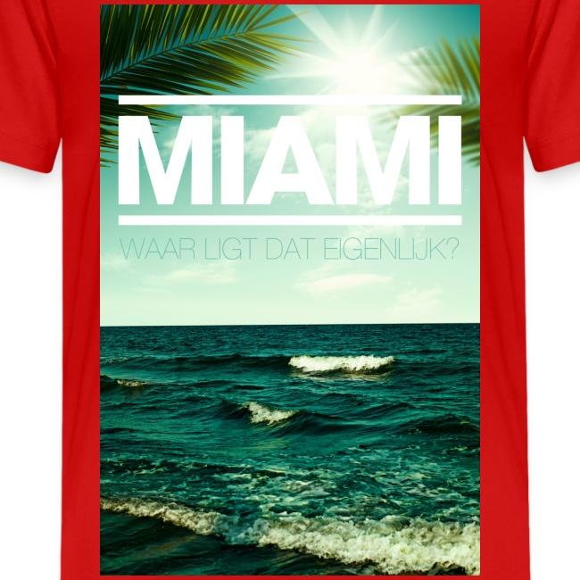 Miami tienershirt