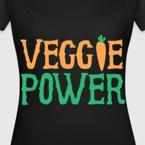 Veggie Power - Frauen T-Shirt