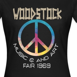 Woodstock Hippie - Frauen T-Shirt