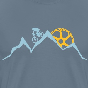 Mountainbike (Sunrise/Red T-Shirts - Männer Premium T-Shirt