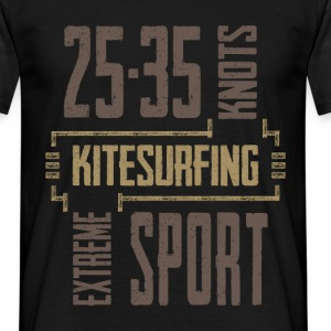 Kitesurfing T-shirt | 25-30 Knots - Men's T-Shirt