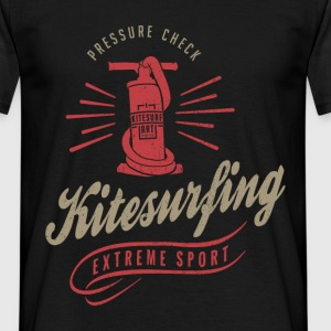 Kitesurfing T-shirt | Pressure Check - Men's T-Shirt