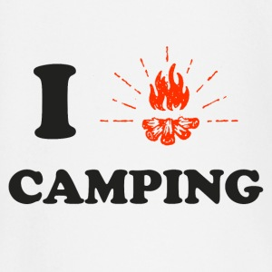 J'adore le camping ! Tee shirts manches longues Bébés - T-shirt manches longues Bébé
