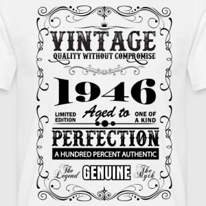 Premium Vintage 1946 Aged To Perfection T-Shirts - Men's T-Shirt