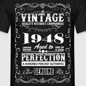 Premium Vintage 1948 Aged To Perfection T-Shirts - Men's T-Shirt