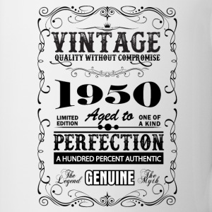 Premium Vintage 1950 Aged To Perfection Mugs & Drinkware - Mug