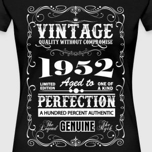 Premium Vintage 1952 Aged To Perfection T-Shirts - Women's Premium T-Shirt