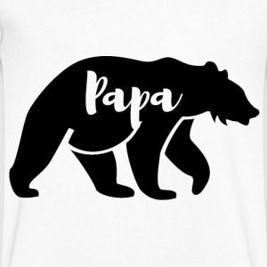 Papa bear T-Shirts - Men's V-Neck T-Shirt