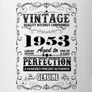 Premium Vintage 1953 Aged To Perfection Mugs & Drinkware - Mug