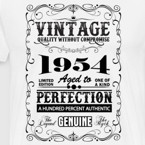 Premium Vintage 1954 Aged To Perfection T-Shirts - Men's Premium T-Shirt