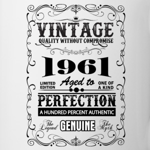 Premium Vintage 1961 Aged To Perfection Mugs & Drinkware - Mug