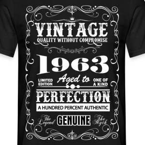 Premium Vintage 1963 Aged To Perfection T-Shirts - Men's T-Shirt