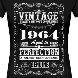 Premium Vintage 1964 Aged To Perfection T-Shirts - Women's Premium T-Shirt