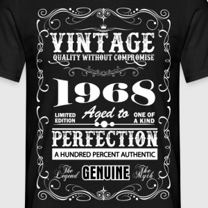 Premium Vintage 1968 Aged To Perfection T-Shirts - Men's T-Shirt