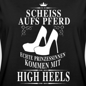 high heels power T-shirts - Vrouwen oversize T-shirt