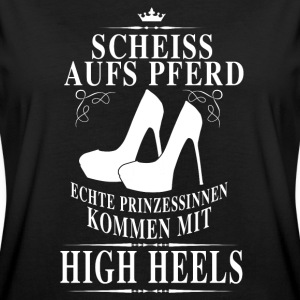 high heels power T-Shirts - Women's Oversize T-Shirt