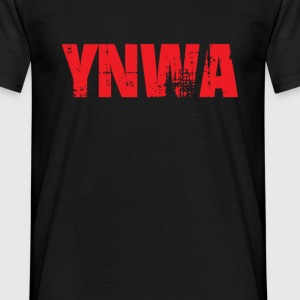 ynwa in red T-Shirts - Men's T-Shirt