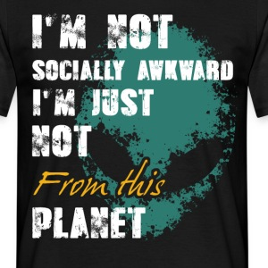 Not from this Planet  T-Shirts - Männer T-Shirt