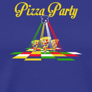 Pizza Party - Männer Premium T-Shirt