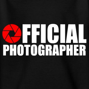 Photographe officiel Tee shirts - T-shirt Ado