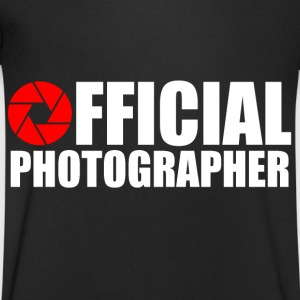 Photographe officiel Tee shirts - T-shirt Homme col V