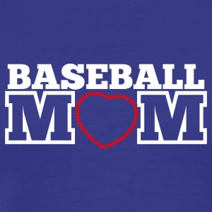 Baseball Mom - Männer Premium T-Shirt
