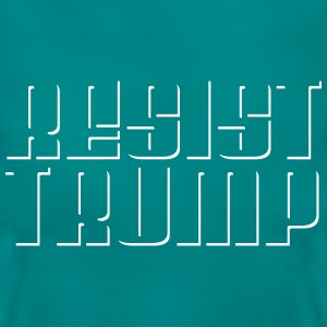 resist trump T-Shirts - Frauen T-Shirt