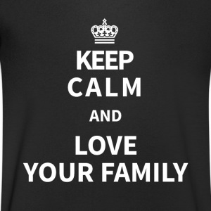 famille Tee shirts - T-shirt Homme col V