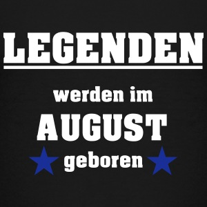 Legenden werden im August geboren T-Shirts - Teenager Premium T-Shirt