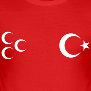 turkiye_uc_hilal T-Shirts - Männer Slim Fit T-Shirt