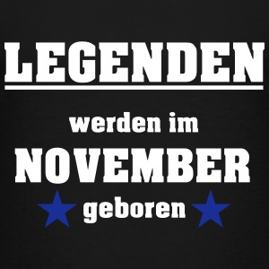 Legenden werden im November geboren T-Shirts - Teenager Premium T-Shirt