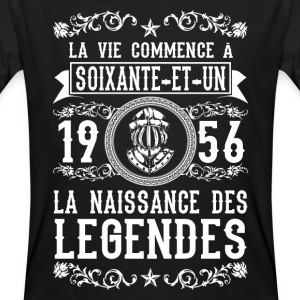 1956 - 61 ans - Légendes - 2017 Tee shirts - T-shirt bio Homme