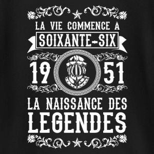 1951 - 66 ans - Légendes - 2017 Tee shirts manches longues Bébés - T-shirt manches longues Bébé