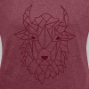 T-shirt femme Bison - Women's T-shirt with rolled up sleeves