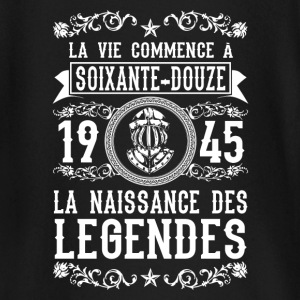 1945 - 72 ans - Légendes - 2017 Tee shirts manches longues Bébés - T-shirt manches longues Bébé